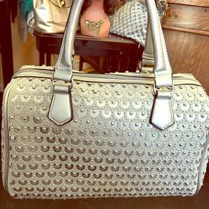 Handbags - Gorgeous Satchel handbag covered in stones.